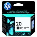 Tintes kasetne HP 20, Hewlett-Packard