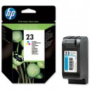Tintes kasetne HP 23, Hewlett-Packard