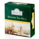 Melnā tēja English Tea No.1, Ahmad Tea