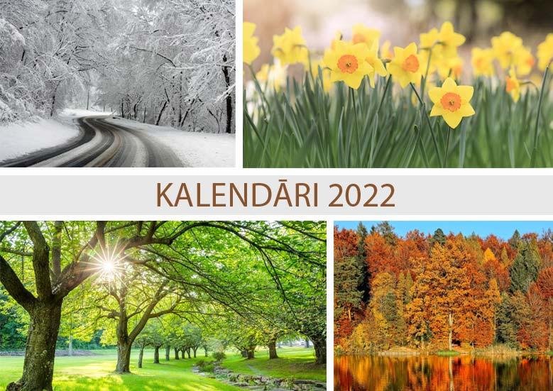 Kalendāri 2022